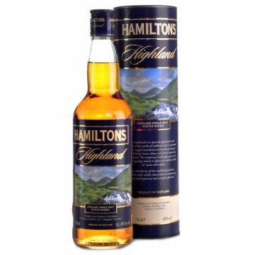 Hamiltons Highland Single Malt Whisky